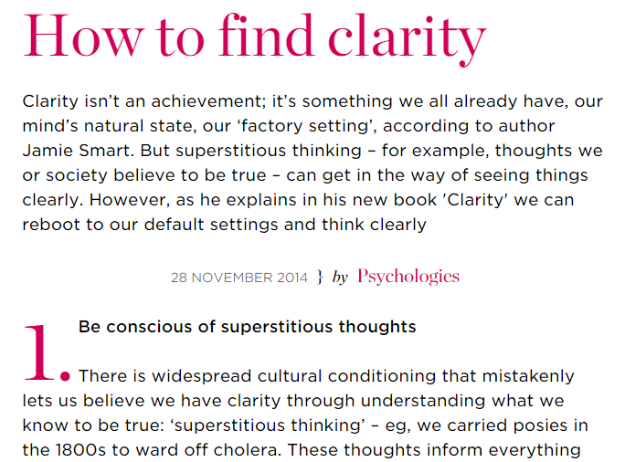 PsychologiesArticle
