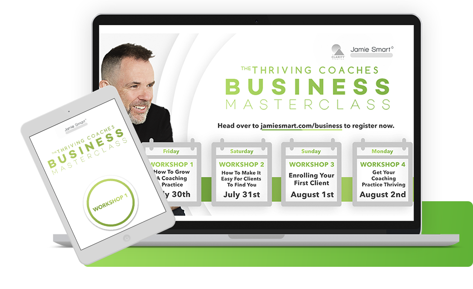 Free Masterclass series - The Thriving Coaches Business Masterclass